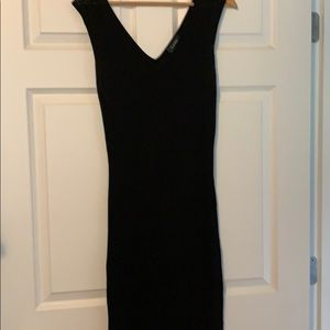 Women's maxi dress black medium